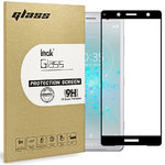 Full Tempered Glass Screen Protector - Sony Xperia XZ2 Compact - Black